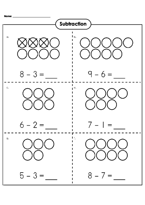 math worksheet : basic subtraction worksheet  kidspressmagazine  : Basic Subtraction Worksheet