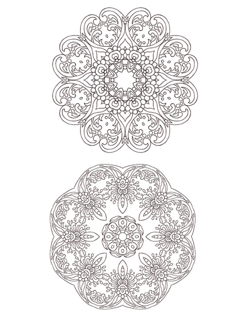advanced christmas coloring pages - advanced christmas coloring page 13