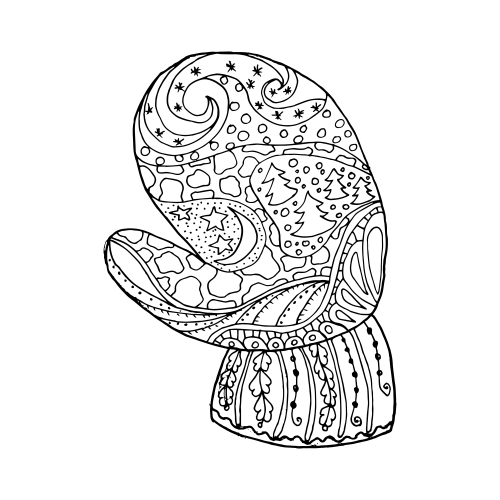 advancedchristmas coloring pages - photo#33