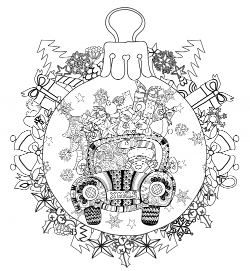 Doodle Coloring pages colouring adult detailed advanced printable ...   543x500