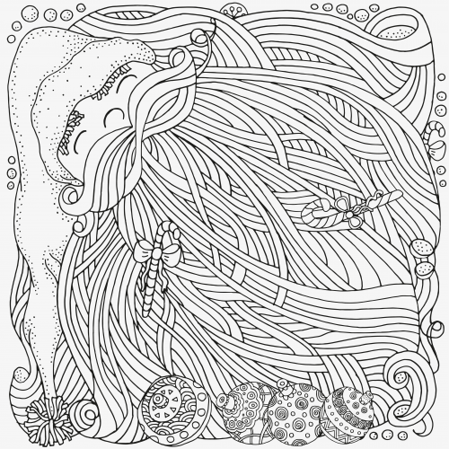advanced holiday coloring pages - photo#5