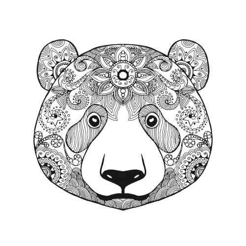 Advanced Bear Coloring Page Kidspressmagazine Com