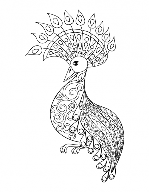 from this series of advanced animal coloring pages to another with ocean life and even fantasy themed coloring pages you are sure to find intricate - Advanced Coloring Pages 2