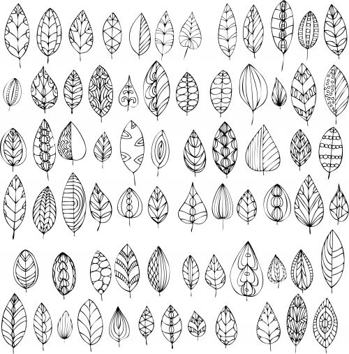 Fall Leaves Coloring Page - KidsPressMagazine.com