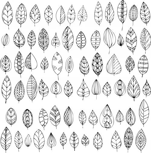 - Fall Leaves Coloring Page - KidsPressMagazine.com