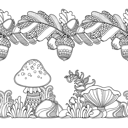 forest coloring pages for kids - photo#29