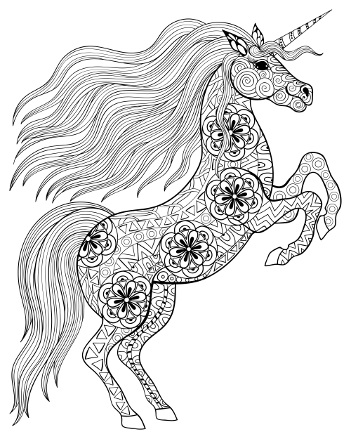 tribal animal coloring pages - photo#24