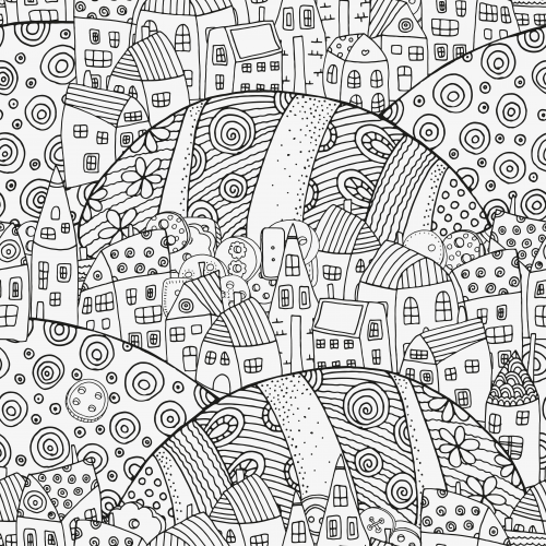 Magic City Coloring Page Kidspressmagazine Com