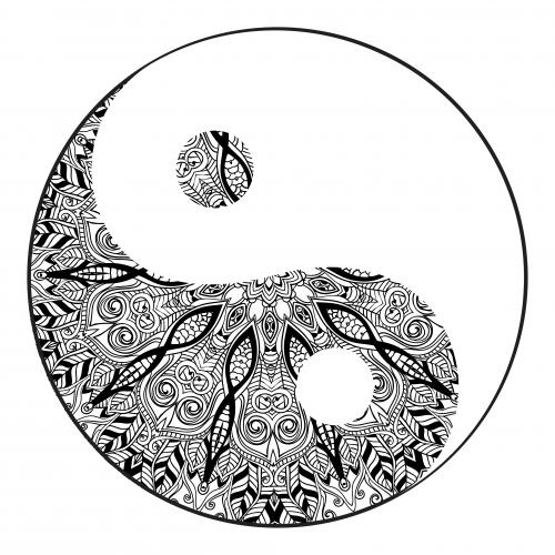Yin Yang Mandala KidsPressMagazine