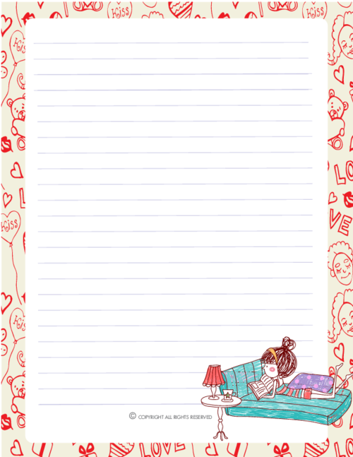 picture relating to Printable Journal Paper identified as Printable PDF Magazine Webpages. Gorgeous Templates for Journaling