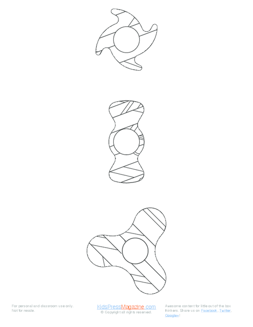 how to make fidget spinners start with 3 diy pdf templates
