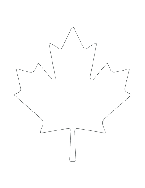 This is an image of Printable Leaf Stencils regarding design