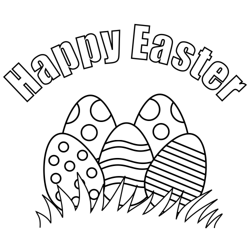photograph about Happy Easter Printable called Joyful Easter Printable For Children -