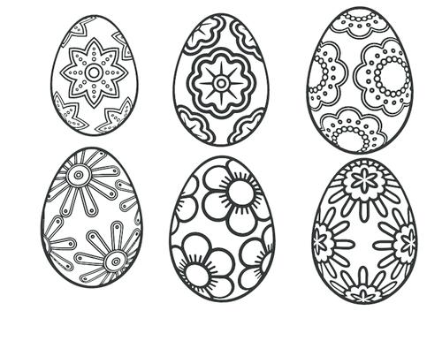 easter egg patterns