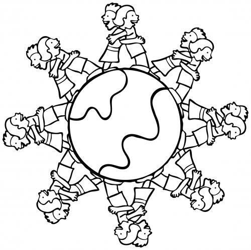 Lets Hug The Globe Together