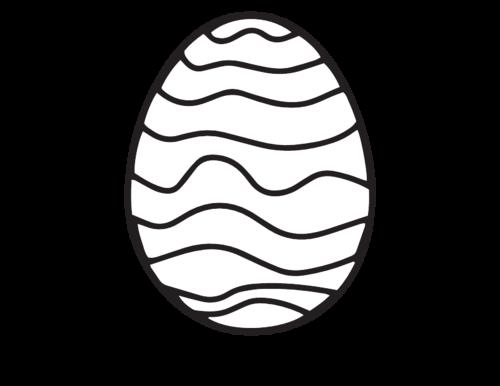 Big Easter Egg Printable - KidsPressMagazine.com