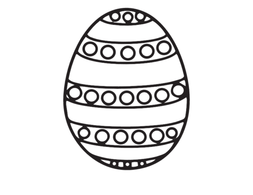 Free Easter Egg Colouring Sheet - KidsPressMagazine.com