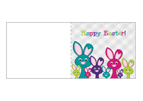picture relating to Easter Cards Printable named Enjoyment Uncomplicated Easter Card Printable -