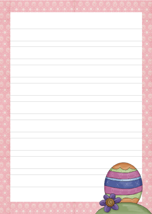 easter writing paper Tons of creative writing topics for kids to practice their writing use for daily journal or writing lessons.