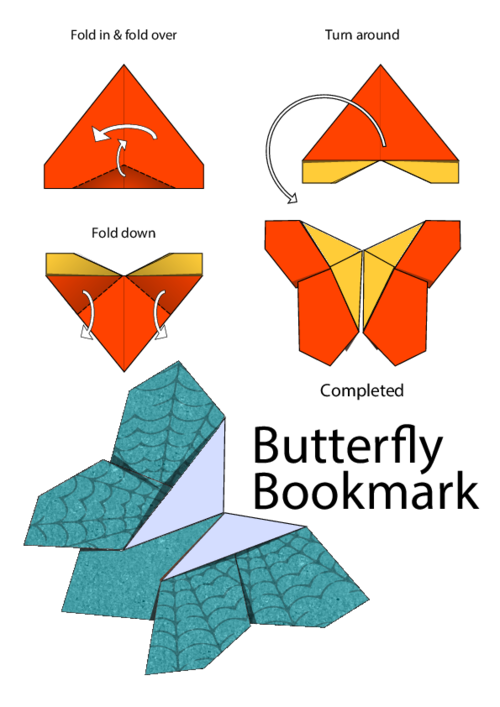 How To Fold Origami Butterfly
