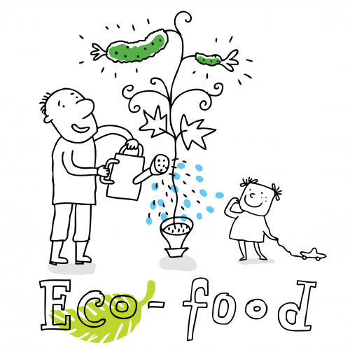 Organic Food Eco Friendly Kids