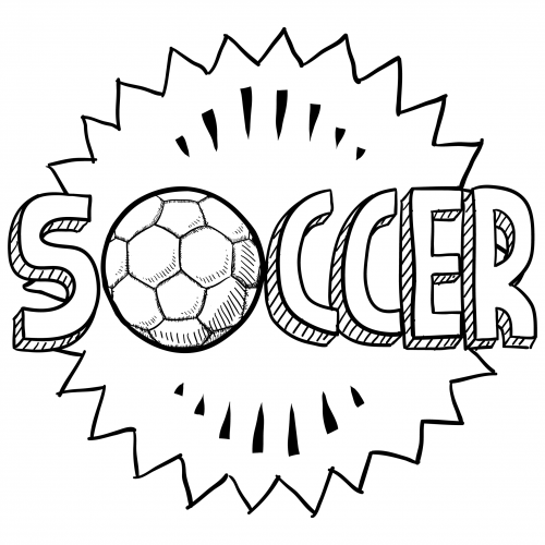 get it now - Soccer Coloring Pages
