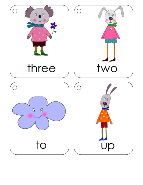 first 100 words flashcards 4