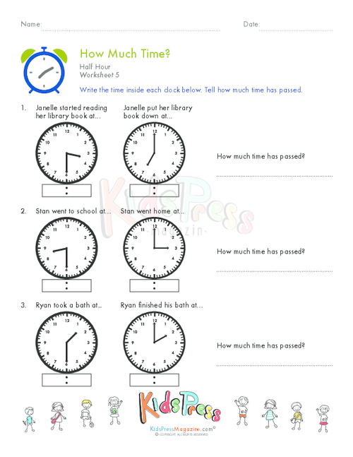 telling time half hour worksheet 10. Black Bedroom Furniture Sets. Home Design Ideas