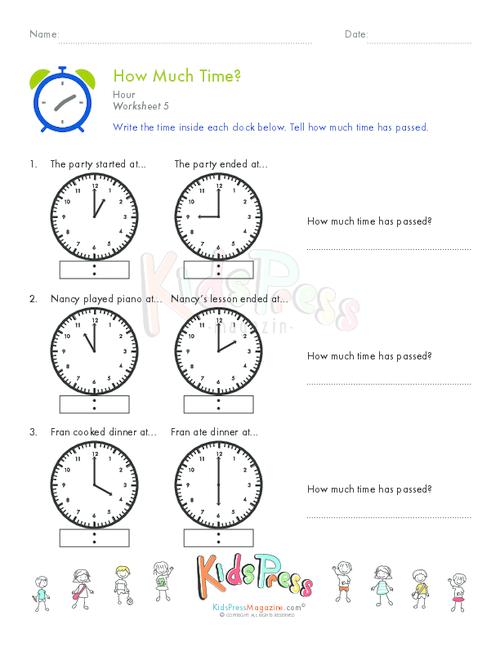 telling time one hour worksheet 5. Black Bedroom Furniture Sets. Home Design Ideas
