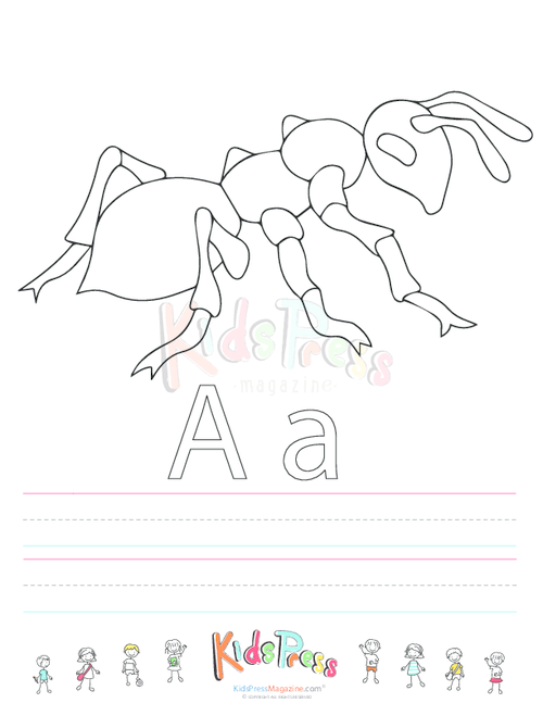 alphabet coloring pages upper lower - photo#28