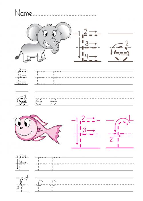 Alphabet Practice E F Kidspressmagazine Com