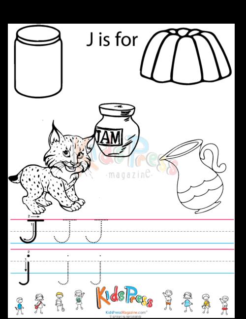 Alphabet Tracing Worksheet J Kidspressmagazinerhkidspressmagazine: Alphabet Coloring Pages With Tracing At Baymontmadison.com
