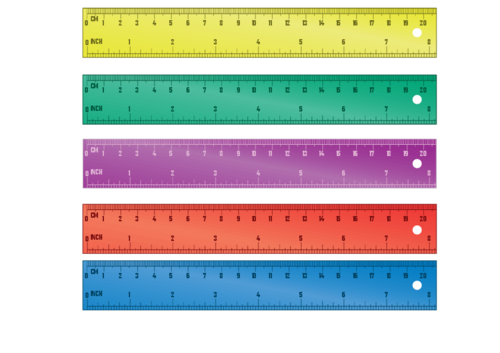 photo relating to Free Printable Ruler referred to as Printable Ruler #3 -