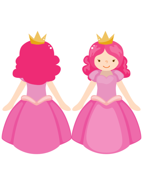 photo about Printable Puppets on a Stick identify Adhere Puppet Princess #4 -