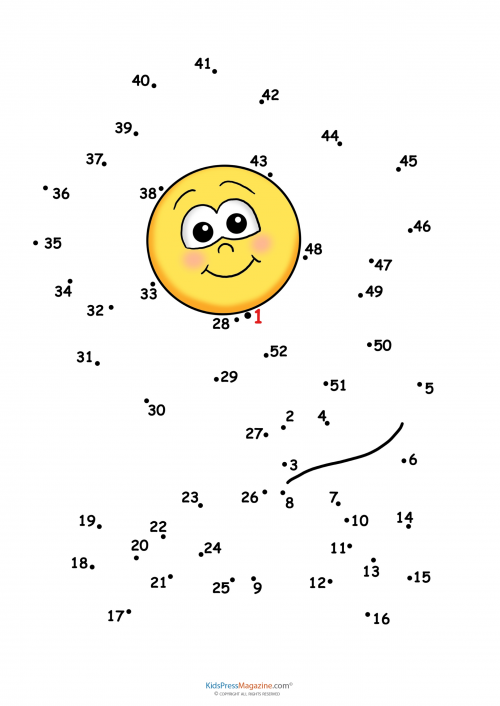 Connect The Dots Sun Kidspressmagazine. Get It Now. Worksheet. Join The Dots Worksheet 1 50 At Clickcart.co