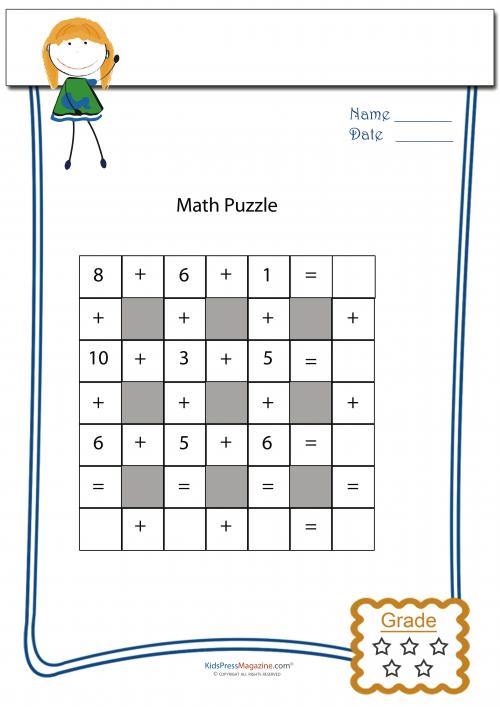 Math puzzle9 kidspressmagazine math puzzle9 ibookread ePUb
