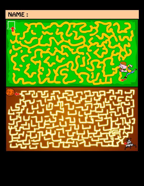 Hard Maze Puzzles 6 Kidspressmagazine Com