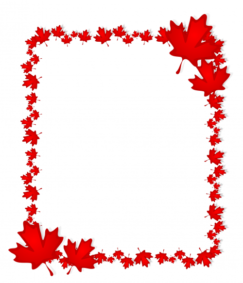 canada printable  u2013 maple leaf stationary