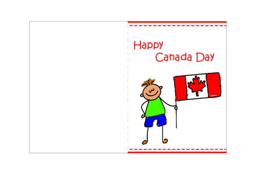 Canada Day Greeting Cards 2