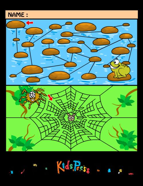 Medium Kids Maze Games #2 - KidsPressMagazine.com