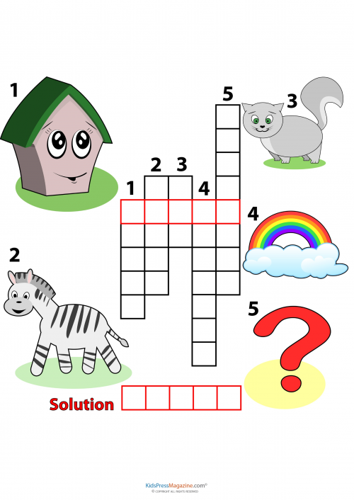 Brain Games Easy Crossword Puzzles Pictures To Pin On Pinterest