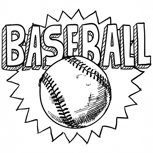 baseball team coloring pages printable - photo#7