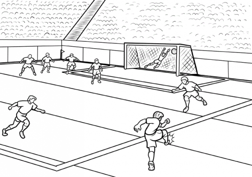 nfl stadium coloring pages - photo#30