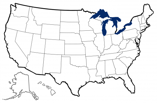 USA Map With State Outlines KidsPressMagazinecom