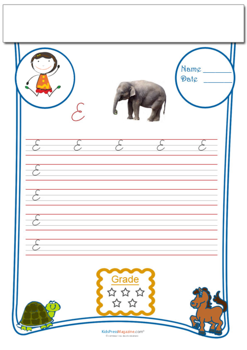 Cursive Writing Worksheet Letter E Kidspressmagazine. Get It Now. Worksheet. Cursive Writing Worksheets At Mspartners.co