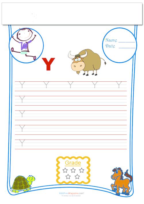 Handwriting Practice Traceable Y Kidspressmagazine Com