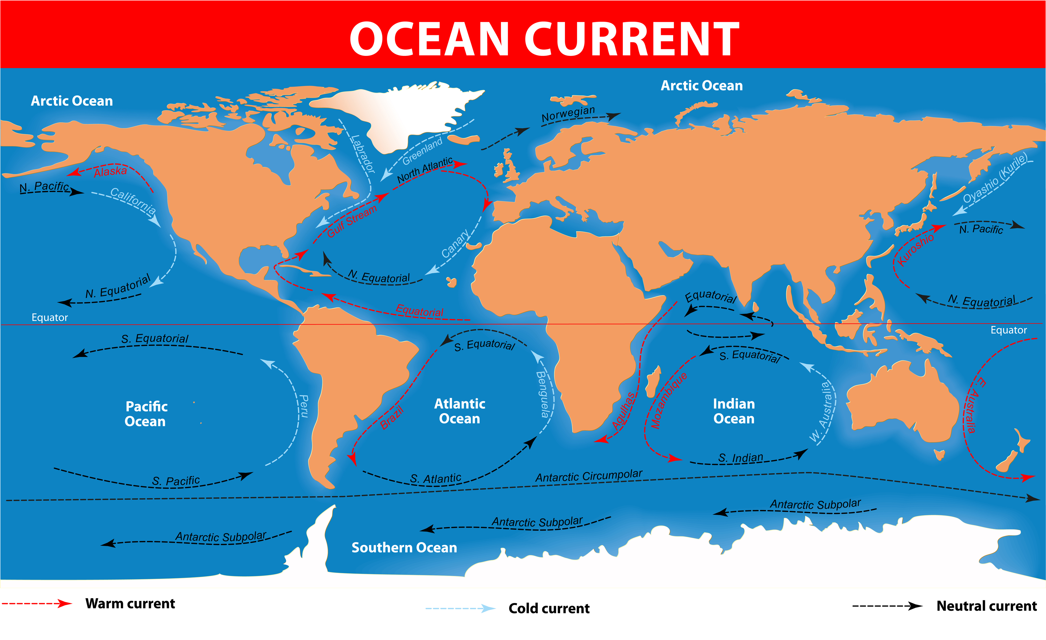Ocean currents kidspressmagazine ocean currents gumiabroncs Images