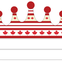 Canada Patriotic Party Crown - FREE
