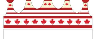 Canada Patriotic Party Crown - FREE