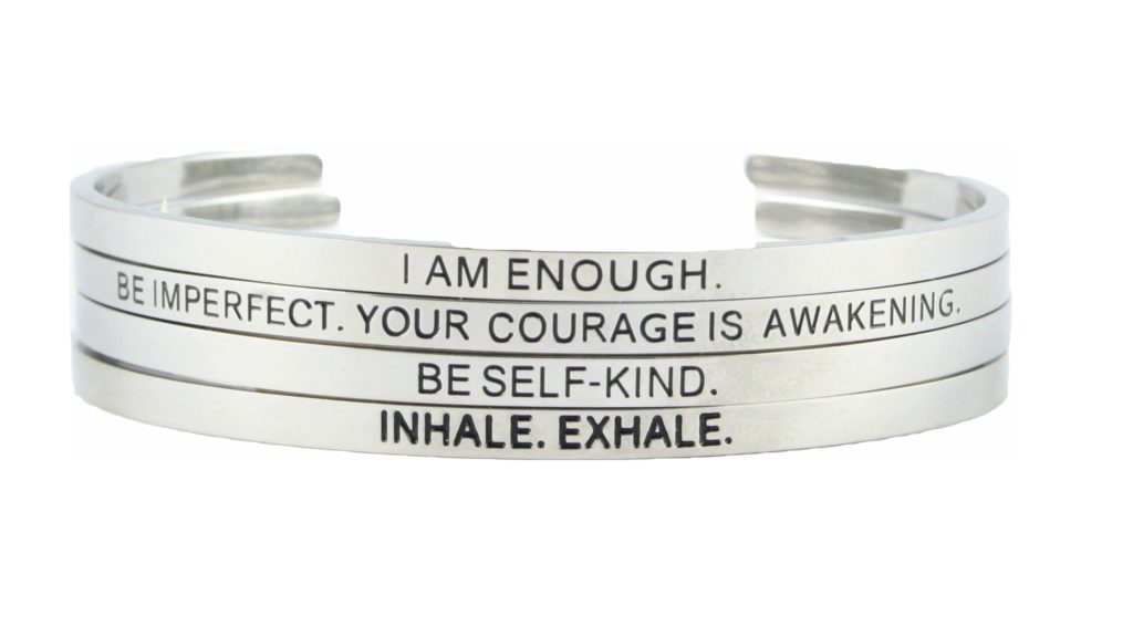 Mantra Bracelet Set of 4